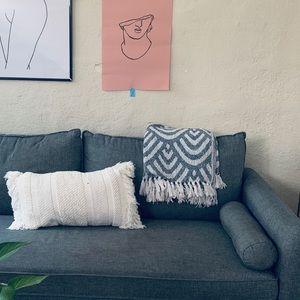 Boho decorative pillow